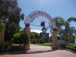 Excited about going to the historic-Queen Mary, Krystal W - May 2014