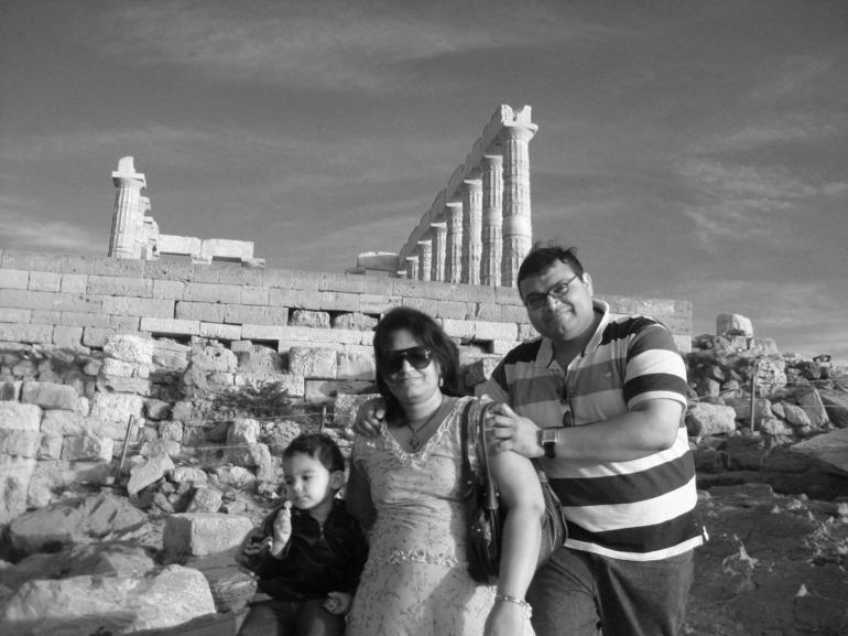 The temple of Poseidon - Athens