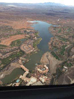 Flying over Lake Las Vegas, WelKnown - January 2017