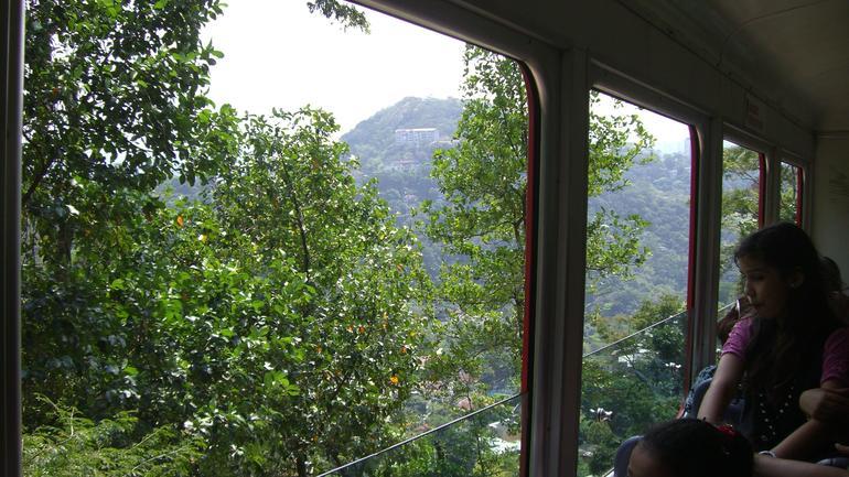 View on the train ride - Rio de Janeiro