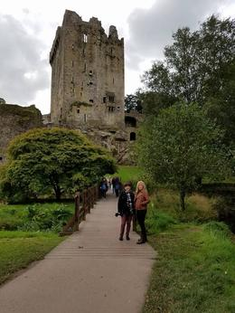 Bryna and Shelley headed to the castle. , Thomas D - October 2016