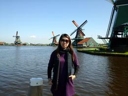 Left 6-7 windmills at Zaanse Schans , k_wq - July 2014
