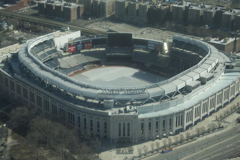 Yankee Stadium form the air - New York City
