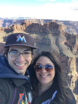 My husband and I at the Grand Canyon , kriziadanais - January 2017