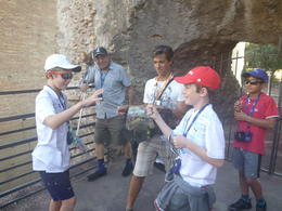 Gladiators battling it out at the Colosseum! , Frederique C - September 2017