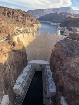 Dam view from the US 93 bridge. , Lemuel G - December 2017