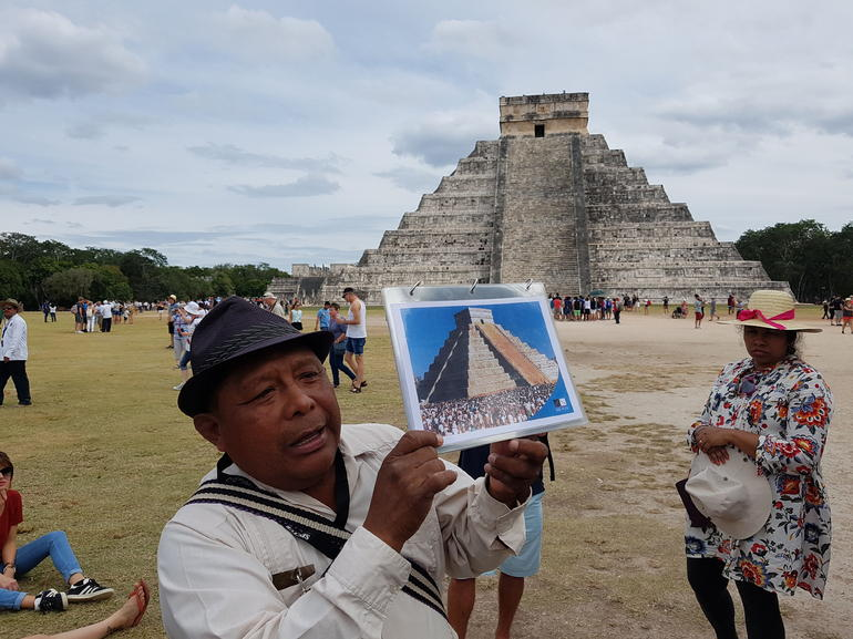 Full-Day Guided Tour of Chichen Itza Mayan Archaeological Site and Cenote Swimming from Cancun