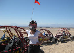 Riding on the dunes was a blast!, Cutie Repolinos - May 2012