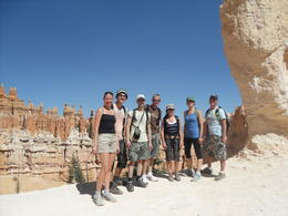 Fun group at Bryce Canyon, Rachel - October 2012