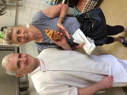 Chef Didier and our fun Paris bakery tour and workshop! , big bird - May 2016