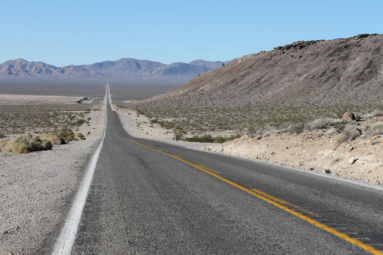 Death Valley .... getting there - Las Vegas