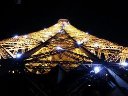 Eiffel Tower at night from the 2nd level , Jonny Farley - March 2014