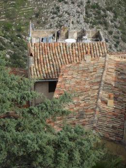Eze roof tops, Philippa Burne - June 2011