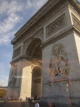 Triumphal Arch- Paris, France , Etten - October 2011