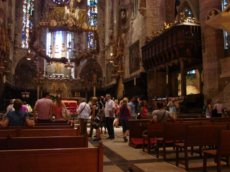 Inside the Cathedral - Mallorca