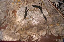 The Mosaic Tiles are uncovered only in September and October of each year. , Alex - September 2014