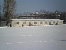 Dachau prisoner sleeping quarters building , Jeffrey R - December 2010