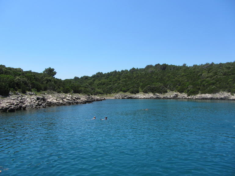 Photos from the boat - Split