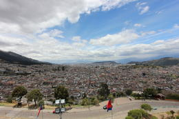 Valley of Quito taken from the statue of the Virgin, Bandit - October 2013