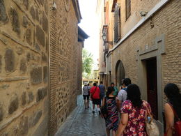 Narrow streets of Toledo , DEBASIS D - August 2016