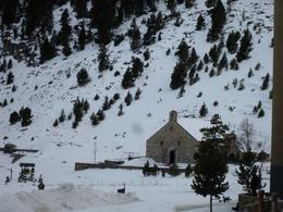 Church at the top of the Pyrenees, Veronica J - March 2010