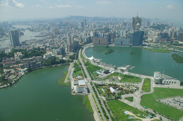 View from Macau tower - Hong Kong