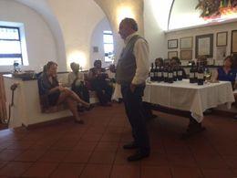 Vinprovning i Frascati, Rom , Maria S - October 2015