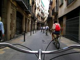 Biking in the Gothic Quarter , Allison N - September 2012