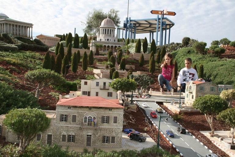 Bahai Gardens-Mini Israel - Tel Aviv