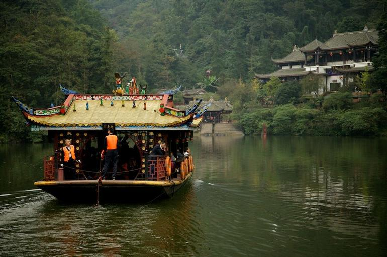 Qingcheng Mountain and Dujiangyan Irrigation System Day Trip from Chengdu photo 13