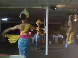 This was the first part where the girls danced to traditional Balinese music. , Jim P - October 2014