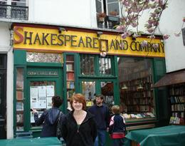 We would have never known about this famous little bookstore if we had not gone on this tour. We found out this was several famous authors' little hangout. Today authors come here and live upstairs ... , Jennie Marie B - April 2009