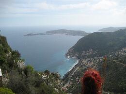 Eze view to the Mediterranean sea, Philippa Burne - June 2011