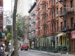 Typical street scene in Greenwich Village., Tighthead Prop - October 2010