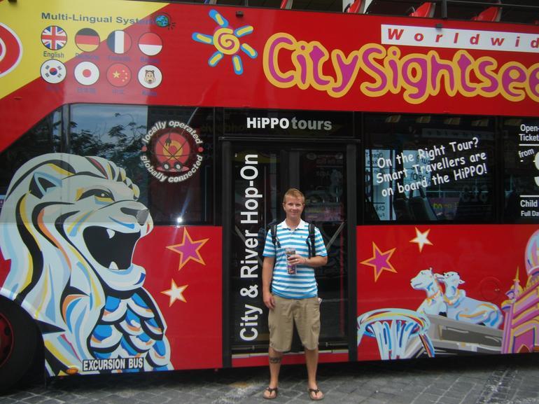 Hop On - Off Tour - Singapore