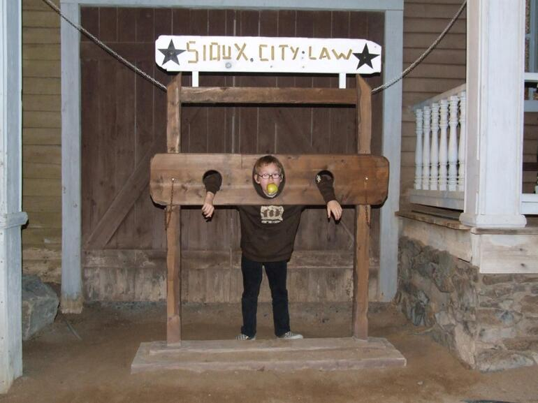 In the stocks - Gran Canaria