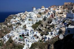 View of Oia, in Santorini, SCV - March 2014