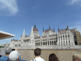 The boat is passing the Hungarian Parliament. They just cleaned and spruced it up nicely. , Dubi - May 2013