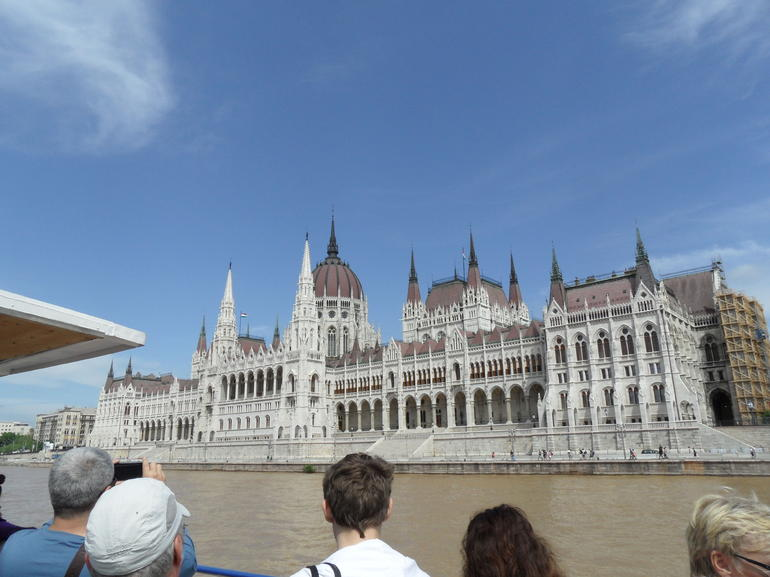 Parliament on a sunny day - Budapest