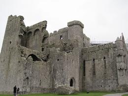 Cold and windy at the Rock of Cashel. , James C - December 2013