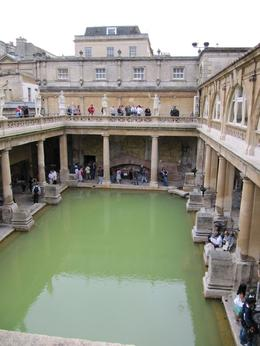 Taken in Bath inside the Roman Baths., Corrie R - September 2009