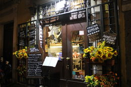 Trastevere restaurant Il Ciak - sfeerfoto , H. G - May 2015