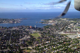 View from the seaplane, Jules & Brock - July 2012