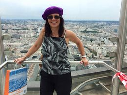 Great view of the city! , Marchelle - August 2015
