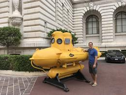 Jacques Cousteau's submarine-Museum of Oceanography , Casey S - September 2017