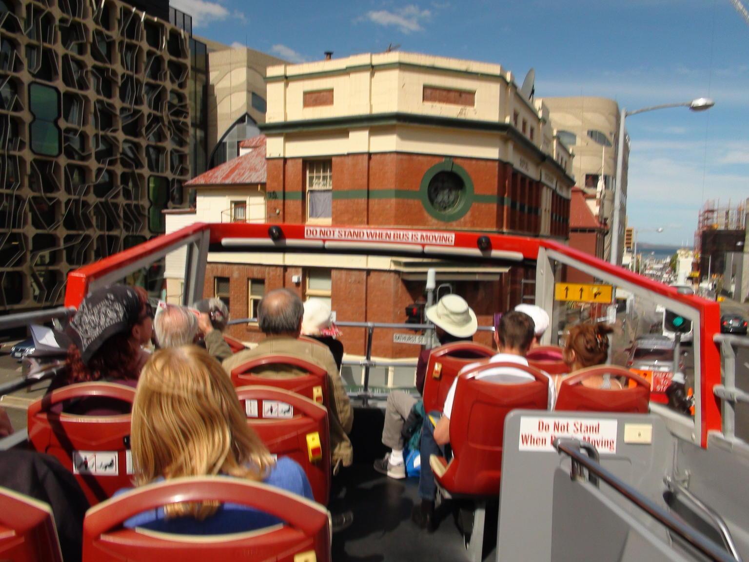 MÁS FOTOS, Recorrido en autobús con paradas libres por Hobart