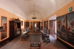 Another room inside the mansion del fundador, Bandit - July 2014