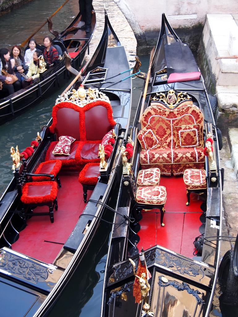 Beautiful Gondolas - Venice