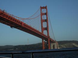 Up close and personal with the Golden Gate Bridge, Christina F - May 2010