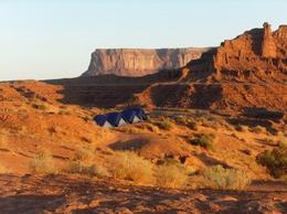 The campground with the best view in the Southwest, Rachel - October 2012